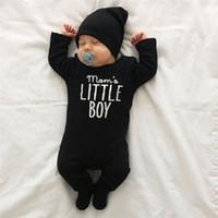 2018 Neugeborene Baby-Kleidung Babyworks Ein bessert Baby Body Baby-Jungen-Mädchen-Langarm Jumpsuits Kleidung Baby Strampler Kleidung