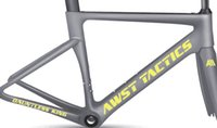 2018 neueste Modell SWOK Carbon-Fahrradrahmen Arm grün / blau / weiß / rainbow / silber Vollcarbon Fahrrad Frameset T1000 UD matt / glänzend Carbon Frameset