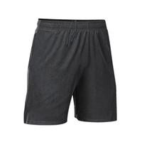 Shorts de grife de verão dos homens calções de praia ocasional dos homens cueca esportes de secagem rápida de fitness respirável shorts de corrida calças Tamanho Cinza M-XXL