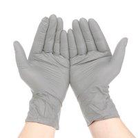 S / M / L de 100 piezas desechables guantes de nitrilo Guante estéril libre para picnic limpieza de los alimentos