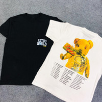 2019 Travis Scott Astroworld Astroworld Bear Printed Women M...