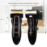Wasserdichte wiederaufladbare Elektro Rasierklinge Männer Rasiermesser Barbeador Eletrico Masculino Männer Rasiermaschine Bartschneider