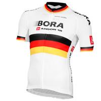 2015 BORA - ARGON 18 PRO TEAM WHITE GERMANY 짧은 소매 셔츠 XS-4XL A10 사이즈 싸이클 사이클링