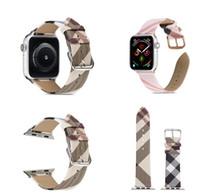 Heißer Verkauf Leder Armband für Apple Watch Band Serie 5/4/3/2/1 Sport Armband 42 mm 38 mm Gurt für iWatch 4 Band 40mm 44mm
