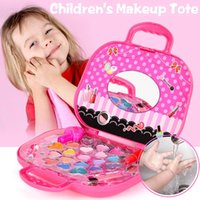 Kinder Kosmetik Prinzessin Makeup Box Set Sicher Ungiftig Mädchen Make-Up Kit Box Lidschatten Lippenstift Palette Box Mädchen Schönheit Spielzeug