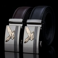 new eagle men' s leather belt buckle business fashion ca...