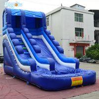 Castelo Bouncy comercial explodir slides infláveis para crianças jogo ao ar livre