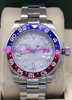 الساعات الفاخرة NEW 3 نمط ولي GMT II السيراميك الصلب التلقائية الرجال ووتش الأسود 126710BLRO موضة ساعات للرجال ساعة اليد
