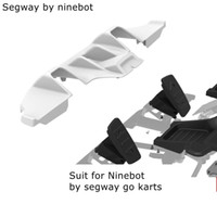 2019 Ninebot par segway go kart accessoires, le remplacement de convertir Ninebot GoKart Kit de rechange pour la réparation fin