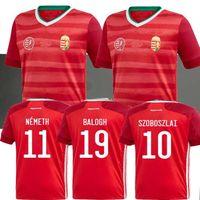 2020 2021 هنغاريا لكرة القدم جيرسي المنزل الأحمر 20 21 فريق وطني دومينيك Szoboszlai ويلي أوربان تاماس كادار لكرة القدم قمصان موحدة أعلى تايلاند