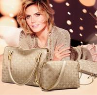 Tote Bag Set Luxury Bags Designer 4pcs Pattern Plain Color Composite Handbags Shopping Fashion Clutch Classical Shoulder Bag Designer F Esdi