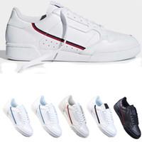PowerPhase Calabasasaslar Continental 80 Rascal Deri Rahat Ayakkabılar Gri OG Çekirdek Siyah Üçlü Beyaz Erkek Kadın Moda Ayakkabı 36-44
