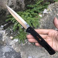 Butterfly 417 EDC Pocket Cuchillo plegable 440C Satin Blade Nylon Plus Glass Fibra Manija Supervivencia al aire libre Pliegue de cuchillos