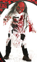 هالوين حزب تأثيري رعب الملابس دموية مخيفة زي للأطفال يتوهم مصاص دماء فارس تأثيري موضوع زي الاتجاه