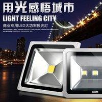 Iluminación al aire libre 10W 20W 30W 50W RGB LED FLUYLOS DE LED A prueba de agua Lámpara de pared de luz de inundación AC 85-265V CE UL DLC