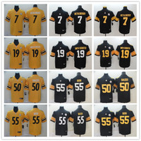 Pittsburgh Men Women Youth Steelers 19 JuJu Smith- Schuster 5...