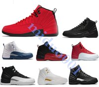 12S 12 Mens Scarpe da Basket 2019 New Michigan Wntr Gym Red NYC OVO Lana XII Designer Shoes Sport Sneakers Scarpe da ginnastica Taglia eur 40-47