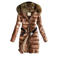 ستر مقنعين المرأة أسفل معطف الفراء الفتيات الشتاء طويل أسفل السترات القطن مبطن الملابس عارضة في الهواء الطلق الدافئة هوديس قميص jumper e6751