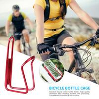 Bouteille d'eau vélo Porte-bouteille en alliage d'aluminium VTT Can Cage Support à vélo boisson tasse d'eau Support à vélo Accessoires