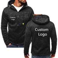 Spring antumn Hoodies Sweatshirts Men Free Personalise Custo...