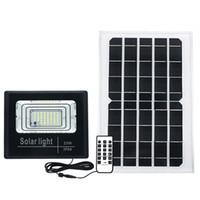25W Solarlampe Flutlicht Solar LED Outdoor Beleuchtung Garten Lichter LED Straßenlaternen Ligth Sensor mit Fernbedienung