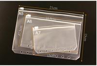 Zip Serrure anti-oxydation Pouches Jade Plastique Bijoux Boucles d'oreilles Valve Fermeture éclair anti-ternissement PVC transparent Sacs de rangement 3 Taille