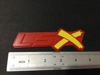 أصفر، أحمر، أسود، LSX جذع شعارات شارة للكامارو SS كورفيت LS سيلفرادو
