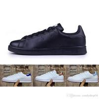 new style 7b3b0 28d62 adidas smith Calidad superior nuevos zapatos stan marca de moda zapatillas  de deporte de smith de