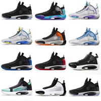 2020 Basketball shoes 34s for mens Jumpman XXXIV 34 Eclipse ...