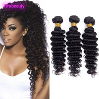 Malaysian Human Hair Three Bundles Deep Wave 3PCS lot Hair E...