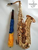 New Japan Yanagisawa T-992 Tenor Bb Tenor Saxophone Playing elettroforesi oro professionale Sax tenore con boccaglio