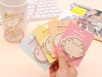 pastiglie kawaii cancelleria appiccicoso promemoria cartoni animati carino nota adesiva ufficio album adesivi all'ordine del giorno 7 * 9 centimetri