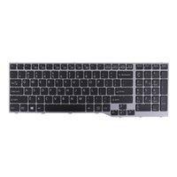 New premium teclados US substituição portátil para Fujitsu Lifebook E753 E754