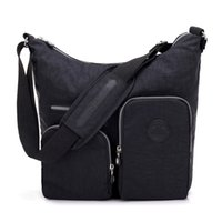 New Waterproof Women Messenger Bag Double Shoulder Bag Desig...