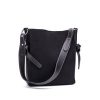 good quality Vintage Pu Leather Lady Shoulder Bag Solid Colo...
