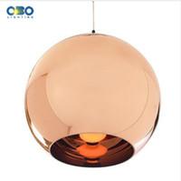Sombra Vintage Ouro / prata banhado vidro luminária Cord 1-1.5m Loja Fio Moderno / Bar / Salão Pendant Light E27 110 * 240V