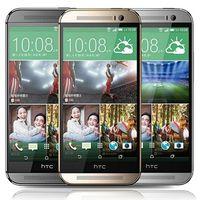 الأصل تجديد HTC واحدة M8 5.0 بوصة رباعية النواة 2GB RAM 16GB 32GB ROM 5MP 4G LTE مقفلة الهاتف الذكي الروبوت DHL محفظة 5pcs