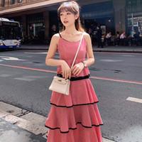 Повседневные платья S-3XL летнее платье без рукавов без плеча натуральные черные синие красные женщины 2021-Soperwillton