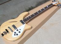 Due stili Natural 4 corde semi-hollow Electric Bass con One F Hole, tastiera in palissandro, può essere personalizzato come Richiesta