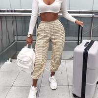 Romantics Day Brief Printing Jogginghose für Frauen-Modedesigner Jogger Hosen-Frauen-elastischer Taillen-gewellte langer Hosen In Hot Pants Verkauf