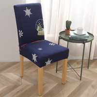 New Spandex Chair Cover Stretch Elastic Dining Seat Cover fo...