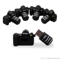 영국 도매 미니 만화 USB 2.0 flashdrive 새로운 패션 카메라 Pendrive USB 플래시 32 기가 바이트 64 기가 바이트 펜 드라이브 웨딩 사진 선물 U 디스크