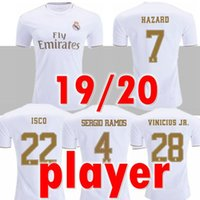 PLAYER soccer jerseys real Madrid 19 20 HAZARD JOVIC MILITAO...