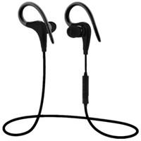 Auricular deportivo Bluetooth Súper estéreo a prueba de sudor con micrófono Auricular con gancho para la oreja Bluetooth