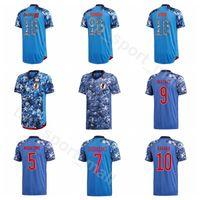 2020 Soccer Japon 9 Suzuki Jersey Hommes 11 Tagawa 8 Ideguchi 18 Hashimoto 2 Suga 19 Sasaki 1 Kits de chemise de football japonais Nakamura