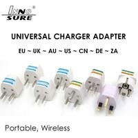 Universele Power Adapter Travel Wall Adapter AU US EU UK Plug Charger Adapter Converter 3 Pin AC macht voor Australië Nieuw-Zeeland