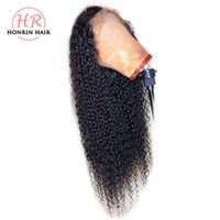 Honrin Hair 360 Lace Wig Kinky Curly Brazilian Virgin Human ...