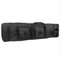 2020 Tactical Gun Bag Airsoft Sniper Rifle Gun Carry Caso tiro Backpack Suporte Alvo Caça Acessórios Exército Bolsa de Ombro 100 centímetros 120 centímetros