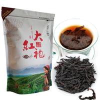 250g Neue chinesische Bio-Dahongpao Schwarzer Tee große rote Robe Fragrant Oolong Tee Hoher Grad Gekochte Tea Green Food Preferred
