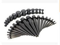 Ear Unisex Acrilico Plug cono Kit Indicatori Expander barella stretching Piercing